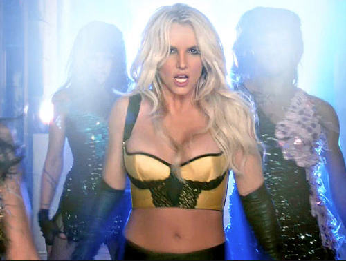 Britney Spears, Work Bitch video