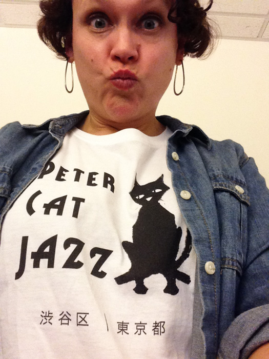 Peter Cat Jazz Murakami tshirt