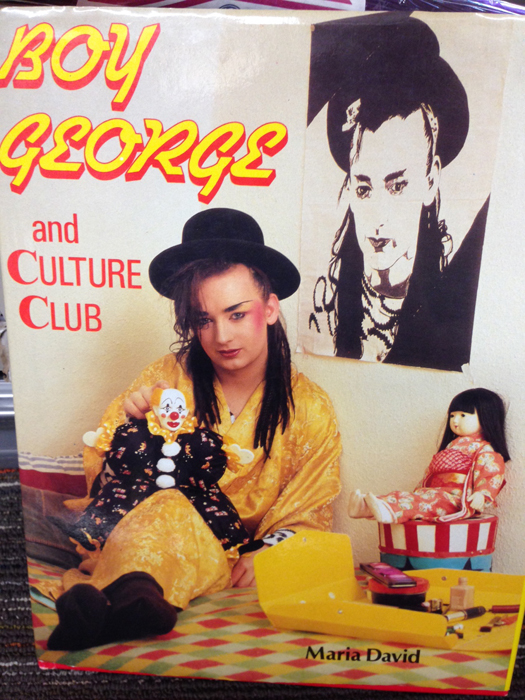 Boy George Coffee Table Book